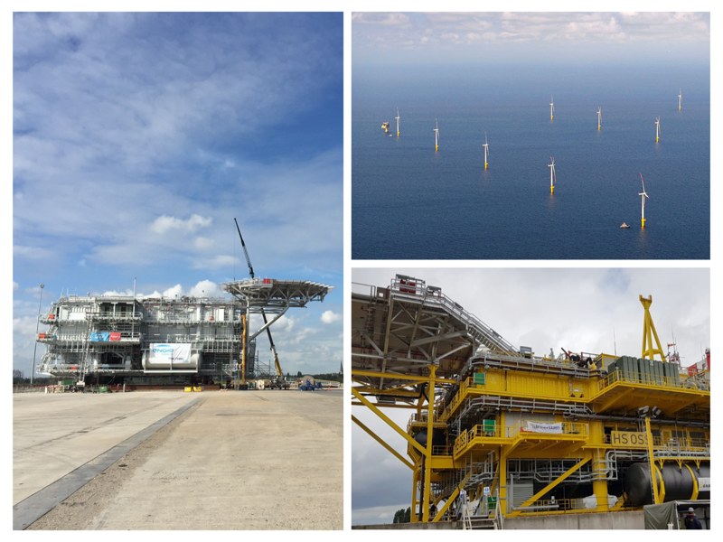 Hohe See Delivers first power