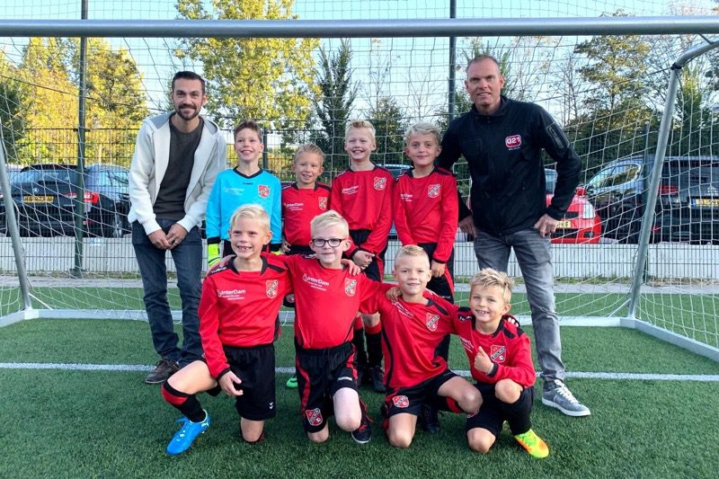 InterDam is the proud sponsor of football club VV Stolwijk's junior team