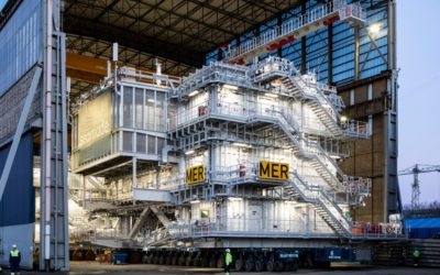 Mermaid Offshore Substation Ready For Installation